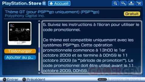 PSP GO PROMO gt - 1