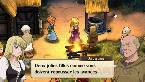 psp-traductions - jeanne d'arc traduction screen