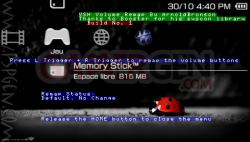 PSP volume remap - 002