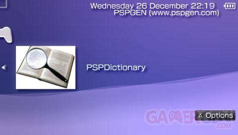 pspdictionnary