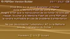 PSPGen Version Builder 005