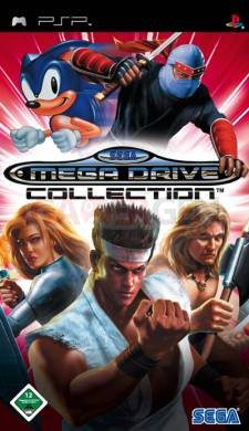 Sega Megadrive Collection psp