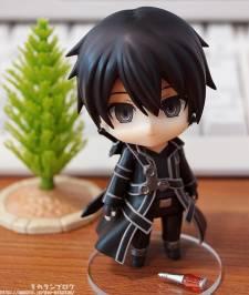 sword art online kirito nendoroid figurine - 4
