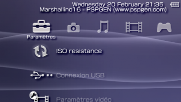 XMB icon manager